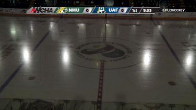Full Replay - Northern Michigan vs Alaska   WCHA (M)