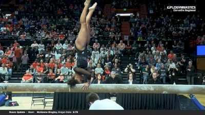 Isis Lowery - Beam, Oregon State - 2019 NCAA Gymnastics Regional Championships - Oregon State