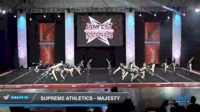 Supreme Athletics - Majesty [2021 L3 Junior - Small - B Day 2] 2021 JAMfest Cheer Super Nationals