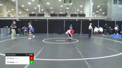 125 lbs Consolation - Gage Curry, American vs Dylan Ryder, Hofstra