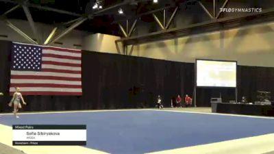 Sofia Sibiryakova - Mixed Pairs, WOGA - 2021 USA Gymnastics Championships