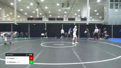 141 lbs 5th Place - Vinny Vespa, Hofstra vs Drew Witham, Long Island U