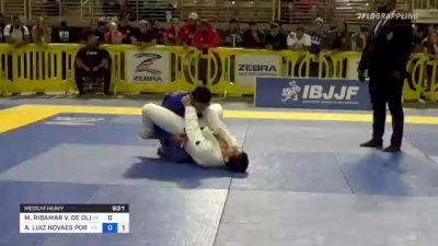MANUEL RIBAMAR V. DE OLIVEIRA FI vs ANDRÉ LUIZ NOVAES PORFIRIO 2021 Pan Jiu-Jitsu IBJJF Championship