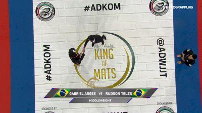 Gabriel Arges vs Rudson Mateus Sarmento Teles 2019 Abu Dhabi King of Mats