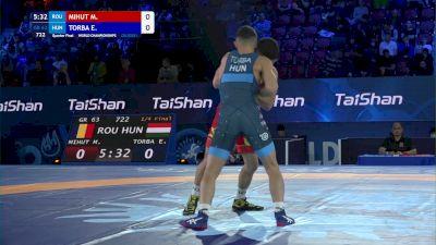 63 kg 1/4 Final - Mihai Mihut, Romania vs Erik Torba, Hungary