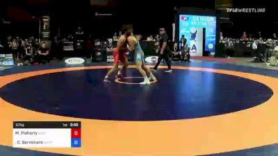 67 kg Consi 4 - Morgan Flaharty, New York Athletic Club vs Calvin Germinaro, Minnesota Storm