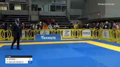 DAVID GARMO vs GABRIEL SALLES MUNIZ ALMEIDA 2020 American National IBJJF Jiu-Jitsu Championship