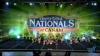 American Cheer - MINI SPARKLE [2021 L1 Mini - Medium Day 2] 2021 Cheer Ltd Nationals at CANAM