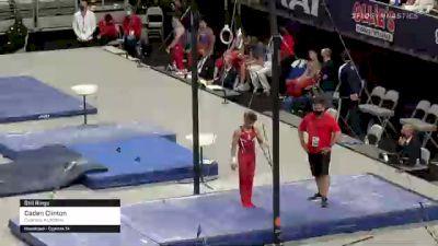 Caden Clinton - Still Rings, Cypress Academy - 2021 US Championships