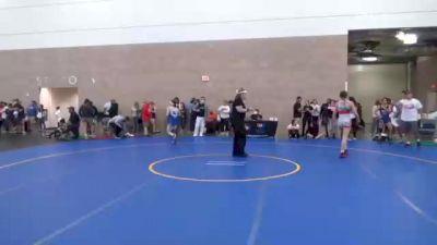 53 kg Quarterfinal - Alisha Howk, WI vs Samara Chavez, TX