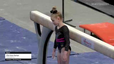 Ella Kate Parker - Beam, Cincinnati Gym - 2021 US Championships