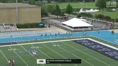 High School Boys' 300m Hurdles 3A, Finals 1