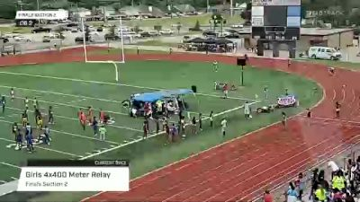 Youth Girls' 4x400m Relay, Finals 2 - Age 15-16