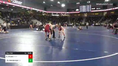 133 lbs Prelims - Charlie Gruen, Milwaukee School Of Engineering vs Brock Henderson, Coe College