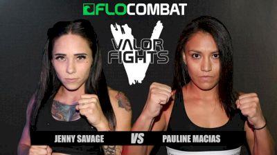 Jennifer Clausius vs. Pauline Macias Valor Fights 46 Replay