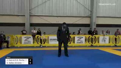 Joao Gabriel Rocha vs Gabriel Almeida 2020 American National IBJJF Jiu-Jitsu Championship