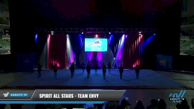 Spirit All Stars - Team Envy [2021 L4 Senior - D2 - Small Day 1] 2021 The American Gateway DI & DII