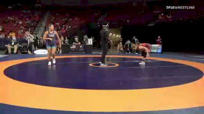 62 kg Consi 4 - Zoe Nowicki, Bulldog Wrestling Club vs Desiree Zavala, Washington