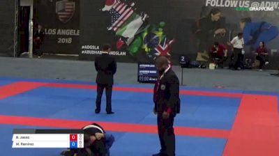 Brandon Jasso vs Mauricio Ramirez 2018 Abu Dhabi Grand Slam Los Angeles