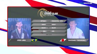 Jose Lima vs Massakai Todoroko 2018 Abu Dhabi Grand Slam