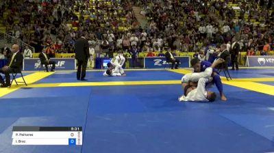 Pedro Palhares vs Isaque Braz 2018 World IBJJF Jiu-Jitsu Championship