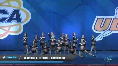 Fearless Athletics - Adrenaline [2020 L4 Senior - Small - D2 Day 2] 2020 UCA Smoky Mountain Championship