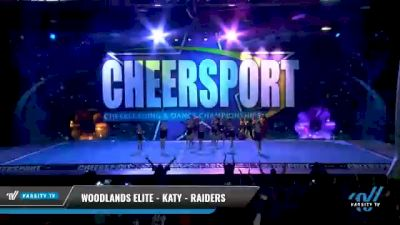 Woodlands Elite - Katy - Raiders [2021 L2 Youth - Small - B Day 2] 2021 CHEERSPORT National Cheerleading Championship