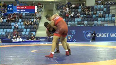 110 kg 1/4 Final - Artur Boichuk, Ukraine vs Omid Khodarham Paidar, Iran