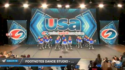 Footnotes Dance Studio - Footnotes Fusion [2019 Open Coed Hip Hop Day 1] 2019 USA All Star Championships