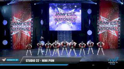 Studio 22 - Mini Pom [2021 Mini - Prep - Pom Day 1] 2021 JAMfest: Dance Super Nationals
