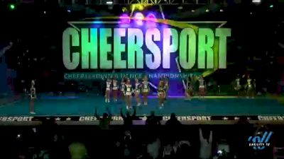 Cheer Nation Athletics - Midnight [2021 L4 Junior - D2 - Small Day 1] 2021 CHEERSPORT National Cheerleading Championship