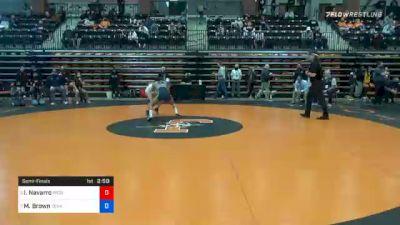 101 lbs Semifinal - Ivy Navarro, Providence vs Madison Brown, Texas Wesleyan