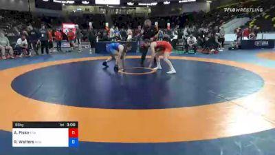 68 kg Prelims - Alyvia Fiske, Titan Mercury Wrestling Club (TMWC) vs Rachel Watters, New York Athletic Club