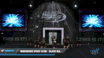 Winnsboro Spirit Club - BLACK DIAMONDS [2021 L2 Junior - A Day 1] 2021 The U.S. Finals: Grapevine