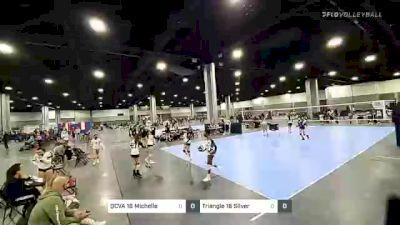 Triangle 16 Silver vs QCVA 16 Michelle - 2021 Capitol Hill Volleyball Classic