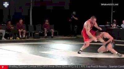 125 kg Quarterfinal - Jordan Wood, NJRTC/SERTC vs Gable Steveson, Gopher WC
