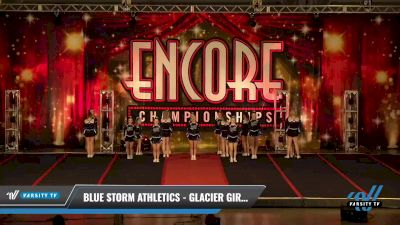 Blue Storm Athletics - GLACIER GIRLS [2021 L4 Junior - D2 Day 2] 2021 Encore Championships: Pittsburgh Area DI & DII