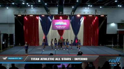 Titan Athletic All Stars - Inferno [2021 L3 Senior - D2 - Small Day 2] 2021 The American Spectacular DI & DII