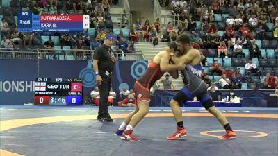 65 kg 1/2 Final - Anri Putkaradze, Georgia vs Nihat Kara, Turkey