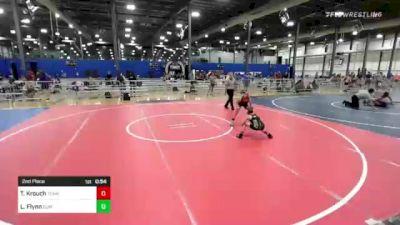 81 lbs 2nd Place - Tyler Krouch, Team Porcelli vs Logan Flynn, Summit Wrestling Academy