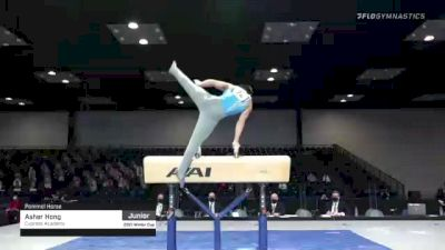 Asher Hong - Pommel Horse, Cypress Academy - 2021 Winter Cup & Elite Team Cup