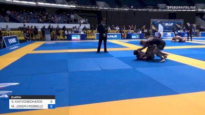 SHUN KIATVONGCHAROEN vs MICHAEL JOSEPH PODROUZEK CRISP 2019 World IBJJF Jiu-Jitsu No-Gi Championship