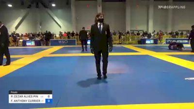 PAULO CEZAR ALVES PINHEIRO vs FRANK ANTHONY CURRIERI FORZA 2021 American National IBJJF Jiu-Jitsu Championship