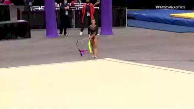Erica Foster - Ribbon, Skywalkers - 2021 USA Gymnastics Championships