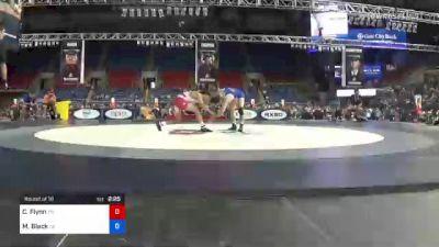 120 lbs Round Of 16 - Cooper Flynn, Tennessee vs Max Black, Colorado