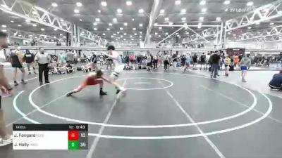 141 lbs Consolation - Joe Fongaro, Edge Wrestling vs Justin Holly, Iron Horse