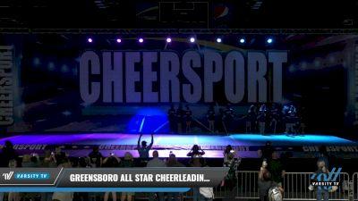 Greensboro All Star Cheerleading - Black Diamonds [2021 L4 Junior Day 1] 2021 CHEERSPORT: Charlotte Grand Championship