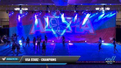 USA Starz - Champions [2021 L2 - CheerABILITIES - Exhibition Day 1] 2021 Aloha DI & DII Championships