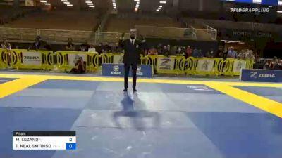 MELISSA LOZANO vs TAMARA NEAL SMITHSON 2020 World Master IBJJF Jiu-Jitsu Championship
