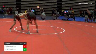 Prelims - Collin Purinton, Nebraska vs Jimmy Hoffman, Lehigh